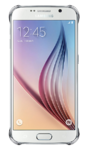 Чехол Samsung Clear Cover Galaxy S6 Серебро