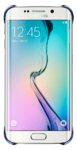 Чехол Samsung Clear Cover Galaxy S6 Edge Черный